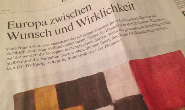 Ein Artikel wie bares Geld für die Banken. (Foto: DWN)